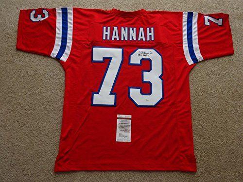 John Hannah New England Patriots Jerseys