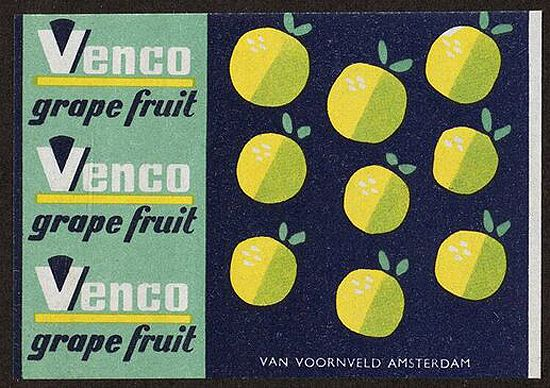 Venco grape fruit via present and correct.