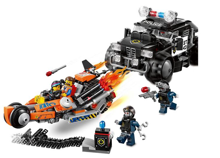 Lego Movie Sets: Super Cycle Chase