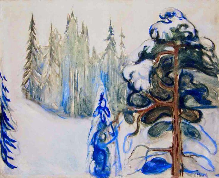 Winter: Edvard Munch, 1899.