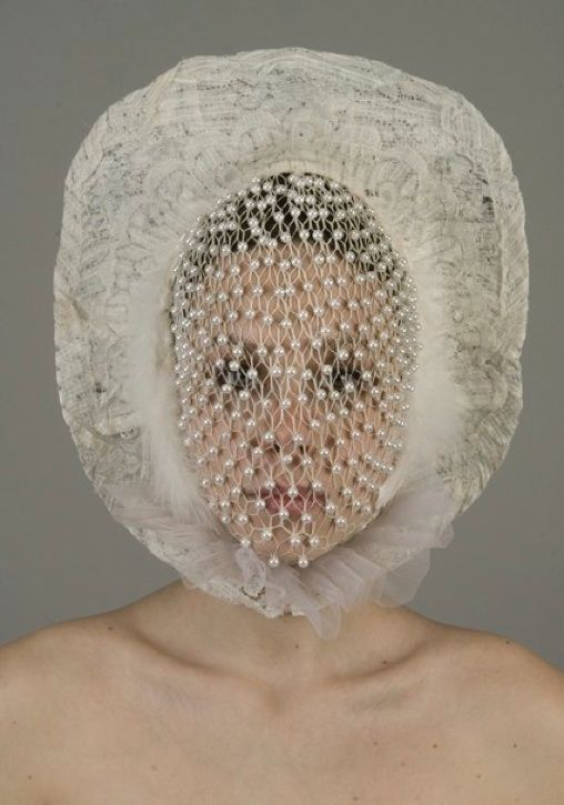 """Mask 09"" by Muriel Nisse"