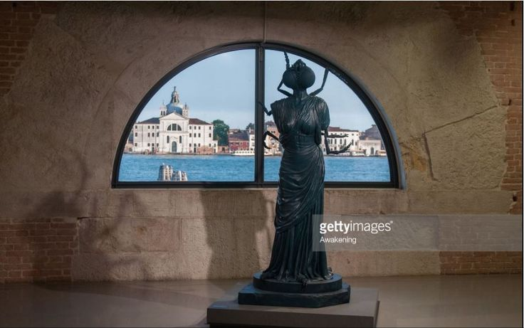 Damien Hirst's new exhibition in Venice @SimonPadovani for @awakeninginfo  @hirst_official @GettyImagesNews