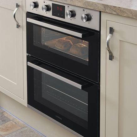 Lamona built-under double fan oven