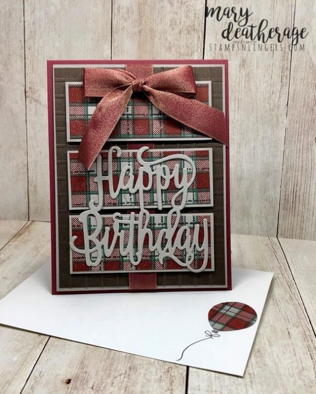 Splitcoaststampers Big Wishes And Buffalo Happy Birthday