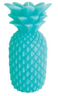 Large Pineapple Candle Awesome Decor Turquoise Home