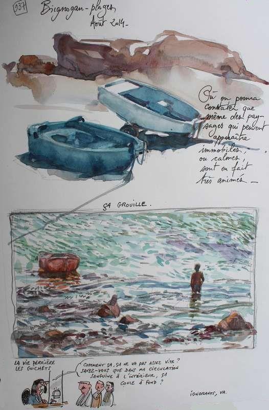 Une Bretagne par les Contours / Brignogan-plages  21/10/2014
