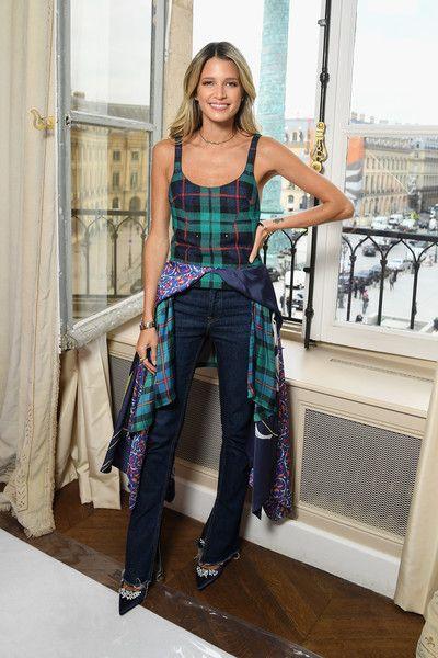 Helena Bordon Photos Photos - Helena Bordon attends the Schiaparelli Haute Couture Fall/Winter 2017-2018 show as part of Haute Couture Paris Fashion Week on July 3, 2017 in Paris, France. - Schiaparelli : Front Row - Paris Fashion Week - Haute Couture Fall/Winter 2017-2018