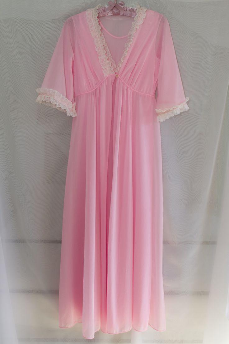 Molyclaire vintage penoir set small bubble gum pink