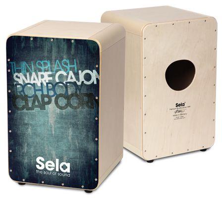Sela CaSela Vintage Blue - Sela Cajon - The Soul Of Sound