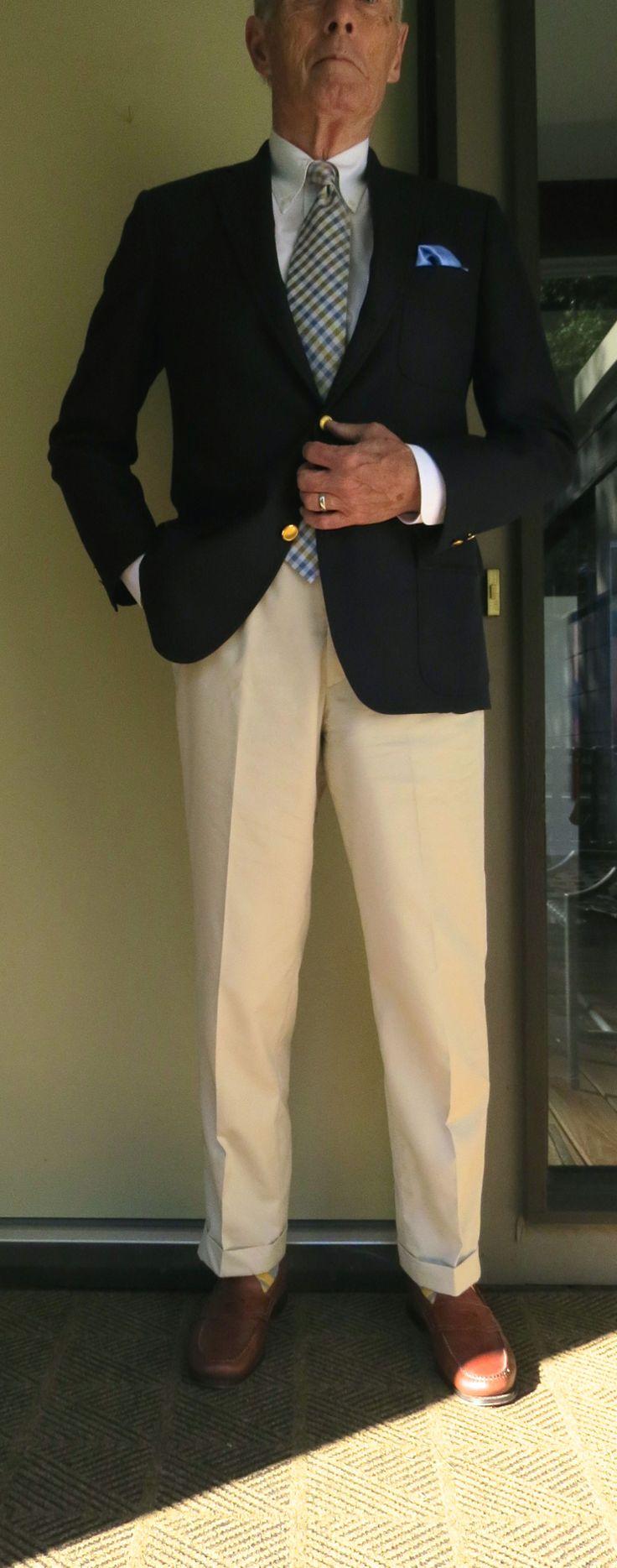 J. Press 3/2 roll Blazer, BB PPBD, Tie Bar tie, Royal Silk ...