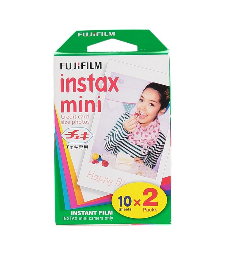 HEMA Colorfilm Instax mini Glossy (2x10/pk) – online – altijd verrassend lage prijzen!