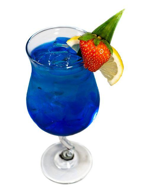 Blue Passion Cocktail Recipe