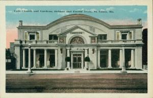 Cafe Cicardi And Gardens Delmar And Euclid Avenue 4901