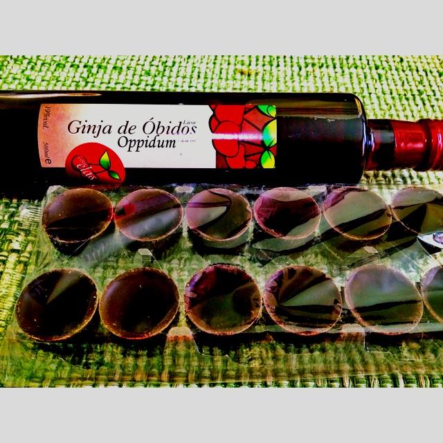 Ginja de Obidos Oppidum ... Cherry Liquor from Portugal