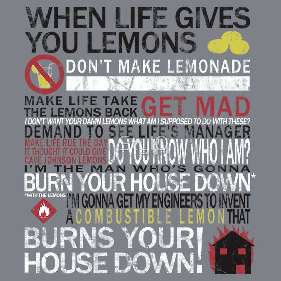 GLaDOS Quotes | Cave Johnson's Lemons, a t-shirt of quote, video, valve, chell, glados ...