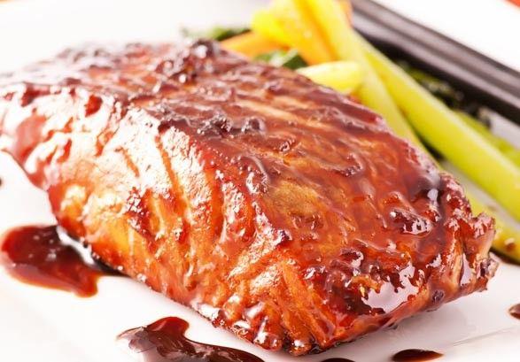 Grilled Teriyaki Alaskan Sockeye Salmon | Yummy Recipes ...