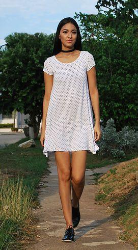 anniefashionidea | Zapatos OXFORD short dress, simple dress, oxford shoes.  choker, street