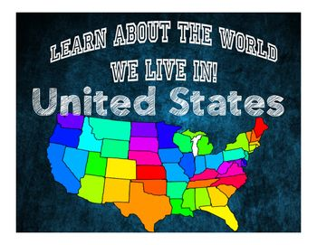 United States Geography Map Gamessocial
