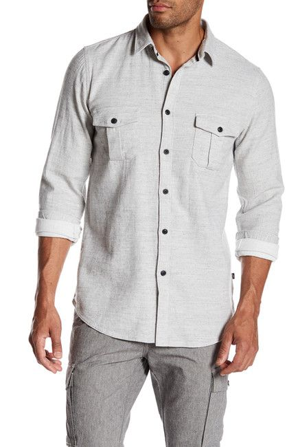 Civil Society Elbow Patched Modern Fit Shirt