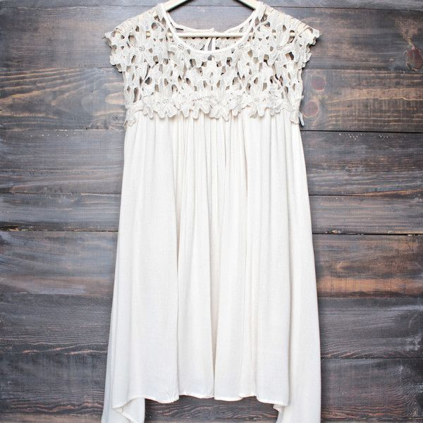 floral crochet lace cap sleeve summer dress (more colors) - shophearts - 4