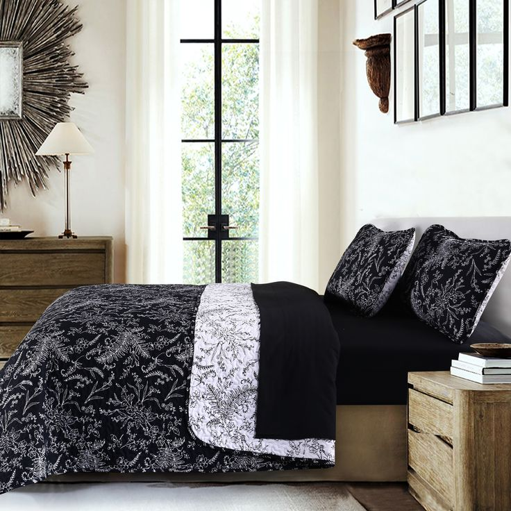 Southshore Fine Linens Winter Brush Reversible Quilt Sets