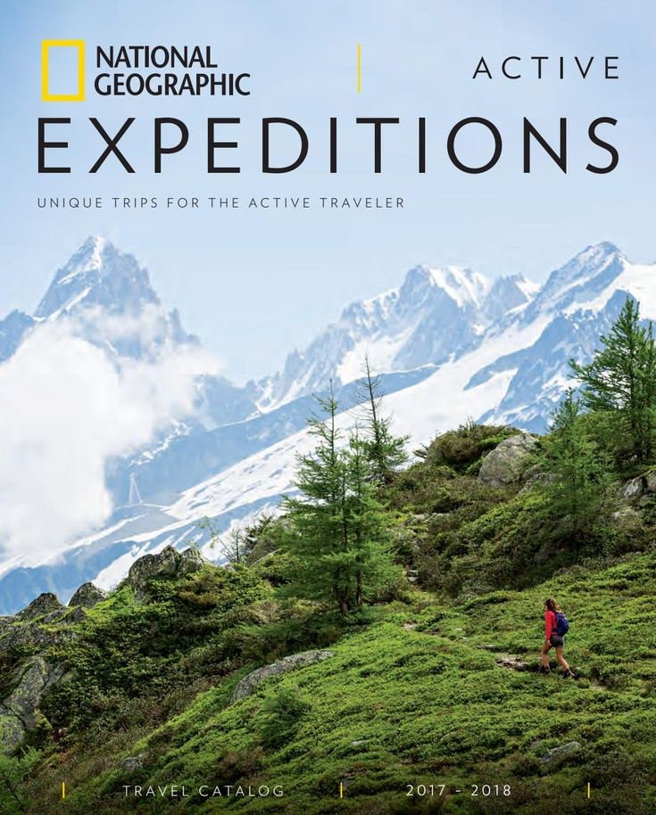2017-2018 National Geographic Active Expeditions Catalog