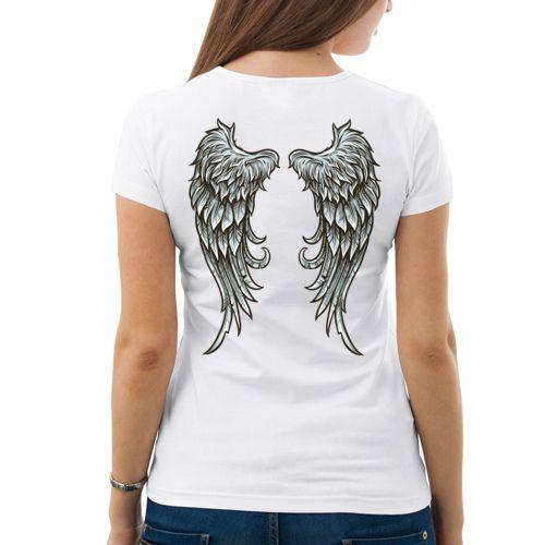 Мы ангелы (ж) - Женская футболка от VseMayki.RU