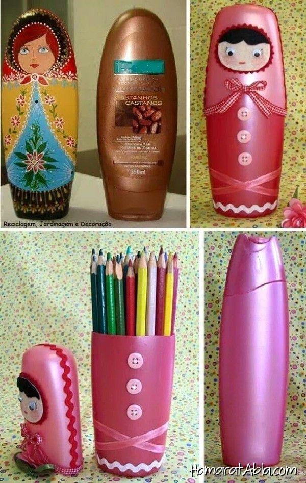 Şampuan Kutularından 24 Kullanışlı Eşya!