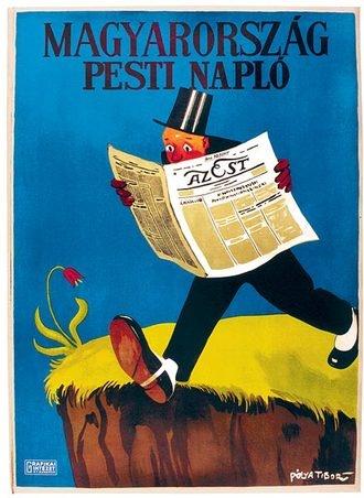 Pólya Tibor: Magyarország, Pesti Napló, Az Est, 1926