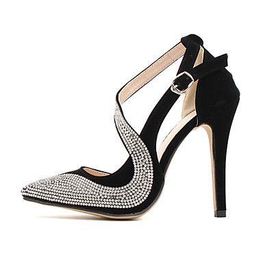 Massaal Vrouwen naaldhak Puntschoen pumps met strass schoenen (meer kleuren) - EUR € 19.99