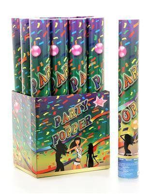 12 x XL Party Popper - Super Stimmungsmacher - Konfetti Shooter - 5-8 Meter Schussweite: Amazon.de: Spielzeug