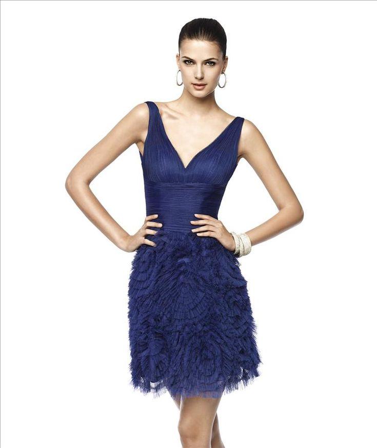 Pronovias Nilda cocktail dress http://lamariee.hu/menyasszonyi-ruha-kollekciok/alkalmi-ruhak/pronovias-koktelruhak-2015