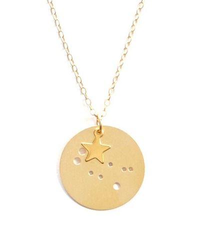 Gemini Charm Pendant Necklace