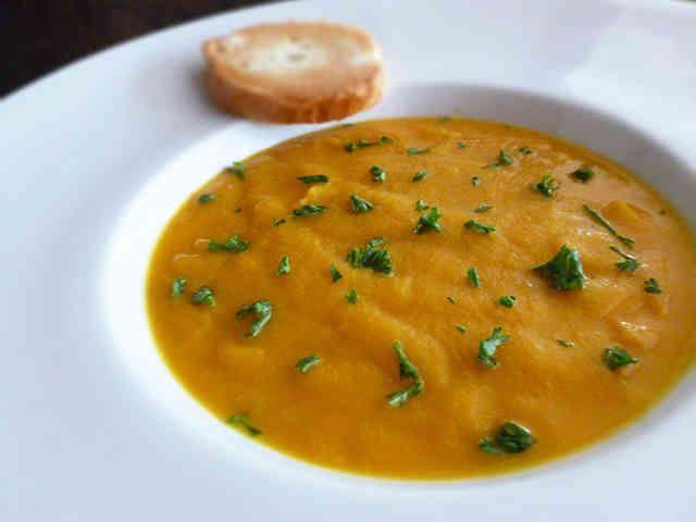 バターナッツかぼちゃスープ(ヴィーガン)