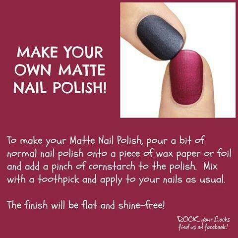How To Make Matte Nail Polish Craft Ideas Pinterest Nails Nailatte