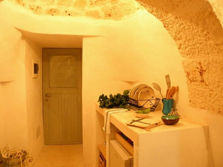 Kitchen trullo