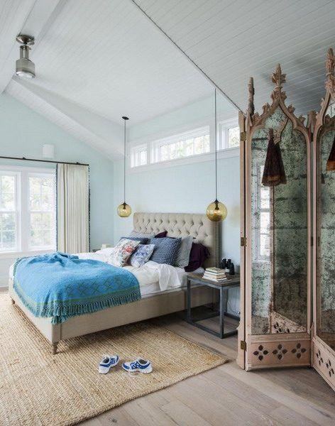 Schlafzimmer Farbe Farbe Trends 2018 Ideen und Tipps für stilvolle - farbe wohnzimmer ideen