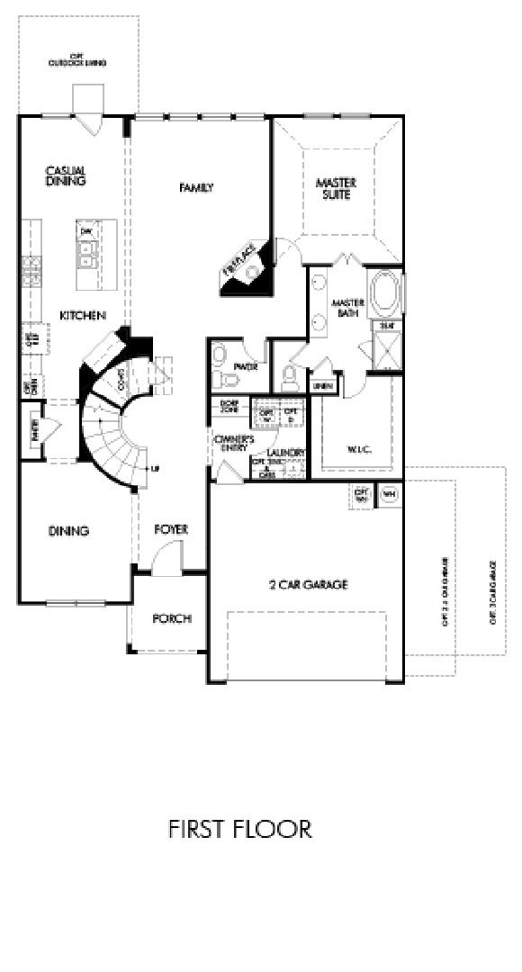 Meritage Cedar Meridian Collection New House Plans House Plans New Homes