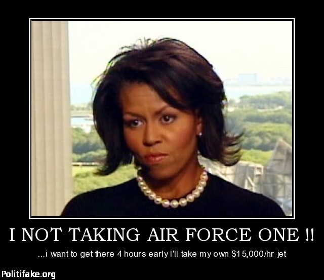 I NOT TAKING AIR FORCE ONE !!