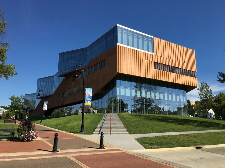 Architecture students learn, in part, by studying the building in which they study. They can get a good lesson in lightning protection from the College of Architecture and Environmental Design (CAED) building on the campus of Kent State University.