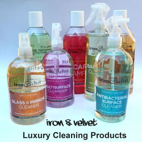 Iron & Velvet – Luxury #Cleaning Products