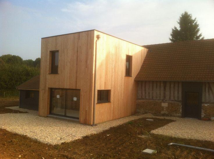 Ossature Bois - Pesqueux Charpente - Charpentiers spécialistes de la charpente traditionnelle et de l'ossature bois, situés au coeur du Pays de Caux, près d'Yvetot, nous intervenons dans tout le 76 et le 27, en Normandie, près de Rouen et du Havre.