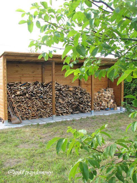 Ogród przydomowy, drewutnia