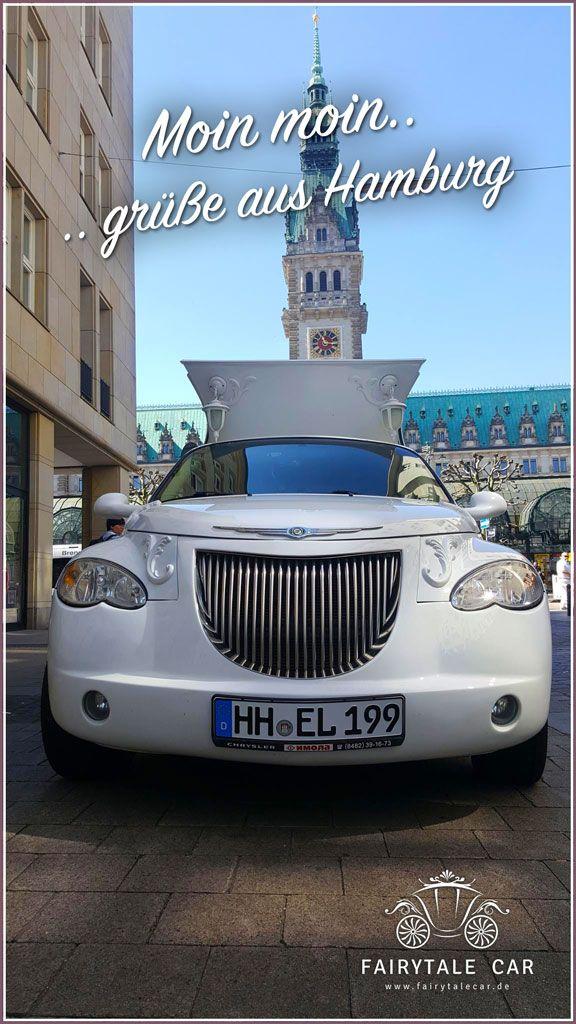#Esvolimo startet in #Hamburg mit unserer #FairytaleCar #Kutschenlimousine