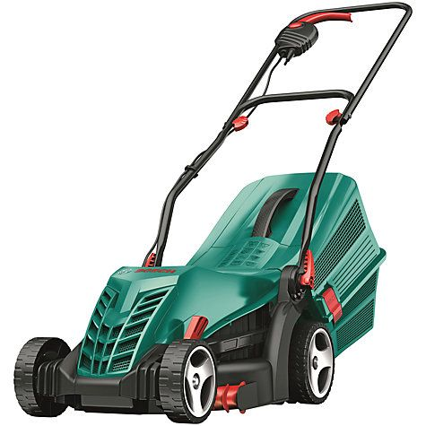 Buy Bosch Rotak 34 R Rotary Hand-Propelled Electric Lawnmower Online at…