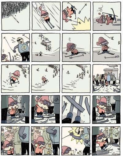 Luigi va a sciare - Guy Delisle