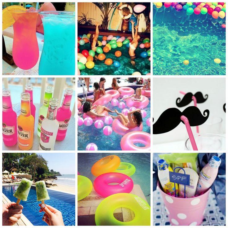 pool party decoração - Pesquisa Google