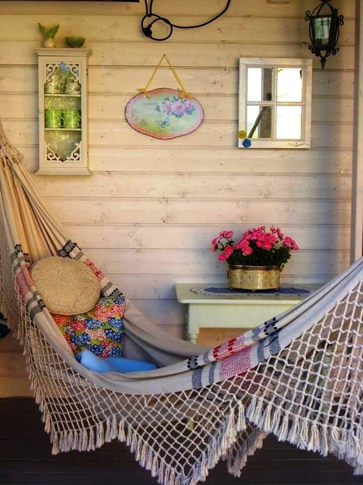 Um cantinho para descansar... #rede #simplicidade #relax