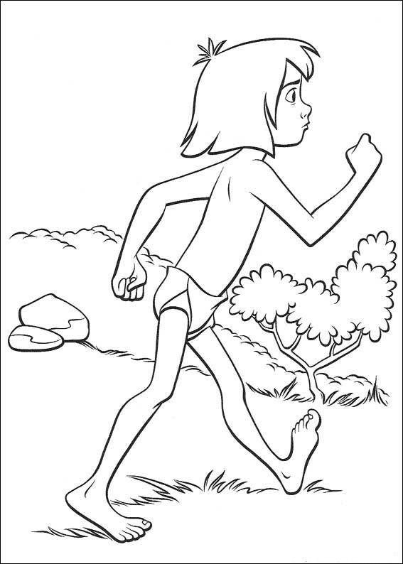 das dschungelbuch 9 ausmalbilder für kinder malvorlagen