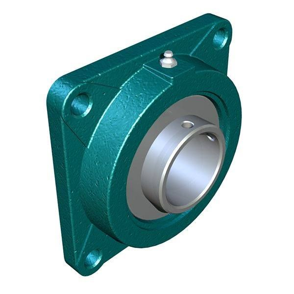 Bearings that are mounted within a flanged housing are used when the bearing mounting surface is perpendicular to a shaft axis.